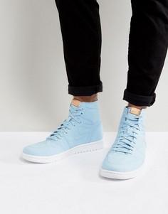 Синие высокие кроссовки Nike Air Jordan 1 Retro Decon 867338-425 - Синий