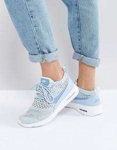 Кроссовки с вязаной отделкой Nike Air Max Thea Ultra - Синий