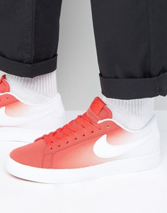 Красные кроссовки Nike SB Blazer Vapor 902663-611 - Красный