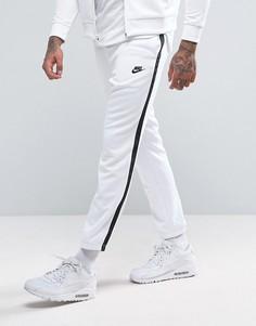Белые спортивные брюки скинни Nike Tribute 678637-100 - Белый