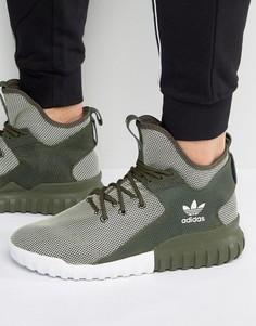 Кроссовки adidas Originals Tubular X BA7781 - Зеленый