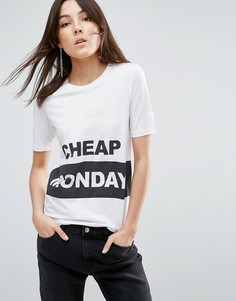 Футболка Cheap Monday Break - Белый