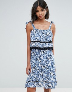 Платье с принтом Unique21 - Синий