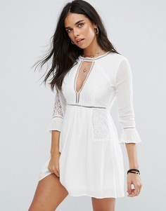 Платье мини Raga Love Always - Белый
