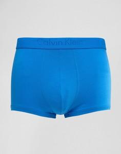 Хлопковые боксеры-брифы Calvin Klein Infinite - Синий