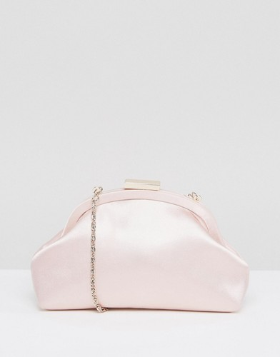 Клатч на скрытом каркасе ASOS BRIDESMAID - Розовый