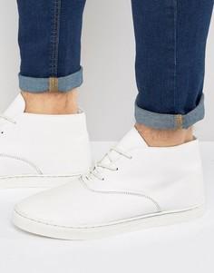 Белые кроссовки средней высоты ASOS - Белый