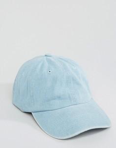 Джинсовая бейсболка 7X - Синий