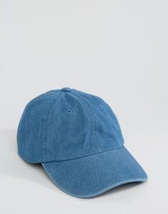 Светлая джинсовая бейсболка 7X - Темно-синий