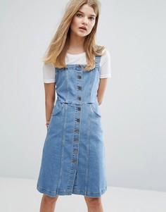 Джинсовое платье на пуговицах Gestuz Eliza - Синий