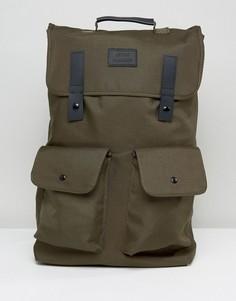 Рюкзак с двумя карманами Artsac Workshop - Зеленый