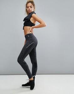 Полихроматические спортивные леггинсы New Look - Серый