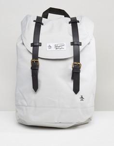 Рюкзак с двумя ремешками Original Penguin - Серый