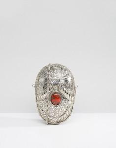 Мини-сумка ручной работы в форме яйца Park Lane - Золотой