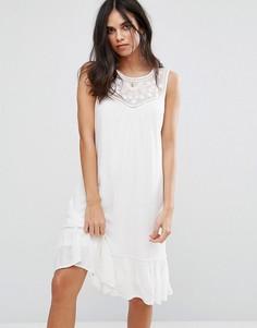 Платье с узором Soaked In Luxury - Белый
