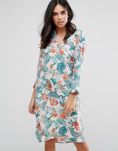 Платье-рубашка Soaked In Luxury - Мульти