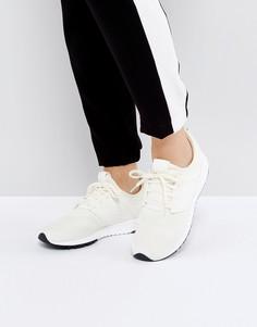 Бежевые кроссовки New Balance 247 - Белый