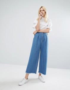 Широкие джинсы J.O.A - Синий J.O.A.