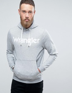 Худи с логотипом Wrangler - Серый