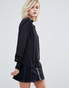 Свободная блузка Pepe Jeans Philo - Черный