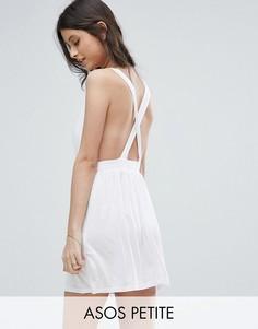 Пляжное платье мини ASOS PETITE - Белый