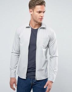 Рубашка с молнией Jack & Jones - Серый