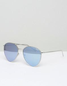 Солнцезащитные очки Quay Australia x Jasmine Indio - Серебряный