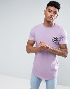 Фиолетовая футболка с логотипом Hype - Фиолетовый