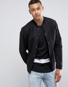 Рубашка с карманом Jack & Jones - Черный