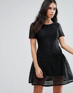 Платье мини Liquorish - Черный