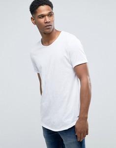 Длинная футболка Esprit - Белый