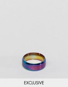 Разноцветное кольцо Reclaimed Vintage - Фиолетовый