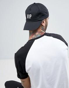 Бейсболка с вышивкой VIP Reclaimed Vintage Inspired - Черный