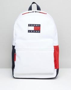 Нейлоновый рюкзак Tommy Jeans - Белый