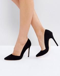 Туфли-лодочки с острым носком London Rebel - Черный