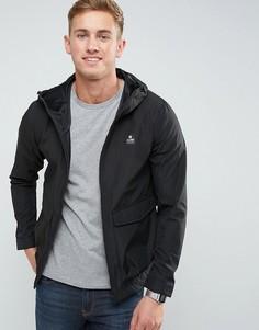 Куртка харрингтон с логотипом Jack & Jones - Черный