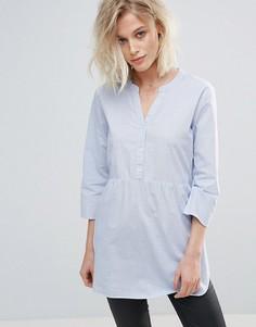 Блузка с рукавами 3/4 JDY Aya - Синий