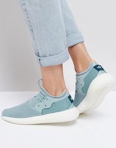 Сине-зеленые кроссовки adidas Originals Tubular Entrap - Зеленый