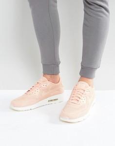 Розовые кроссовки Nike Air Max 90 Ultra Breathe 898010-800 - Розовый