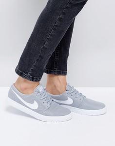 Легкие серые кроссовки Nike SB Portmore Ii - Серый