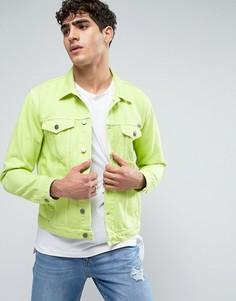 Классическая зеленая джинсовая куртка Calvin Klein - Зеленый
