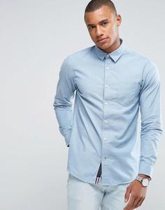 Рубашка шамбре Produkt - Синий