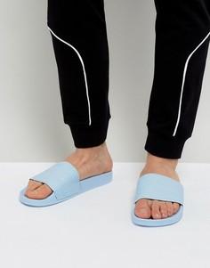 Синие шлепанцы adidas Originals Adilette BA7539 - Синий