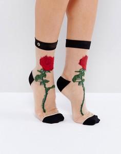 Полупрозрачные носки Stance The Rose - Мульти