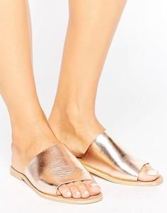Кожаные сандалии Park Lane - Медный