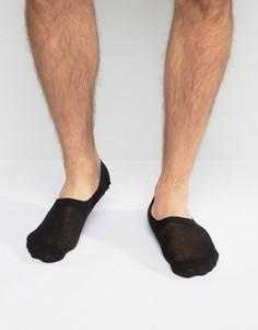 Черные носки невидимки ASOS - Черный