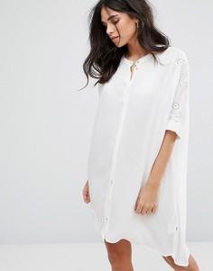 Платье-туника Soaked In Luxury Downey - Белый