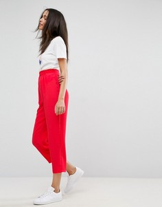 Широкие зауженные брюки со складками ASOS - Мульти