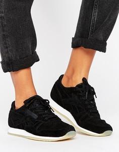 Классические кожаные кроссовки Reebok - Черный