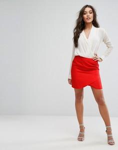 Мини-юбка Supertrash Selena - Красный